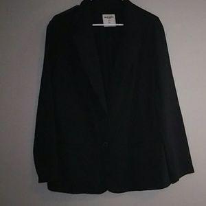 Plus size women's sweatshirt blazer/jacket 2x NWOT